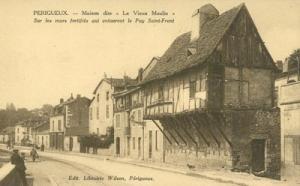France, Perigueux, Maison dite, Le Vieux Moulin, early 19...
