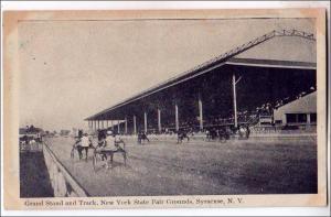 Grand Statnd & Track, State Fair, Syracuse NY