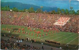 Rose Bowl Pasadena CA Football Stadium Arroyo Seco Unused Vintage Postcard G55