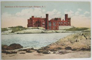 Residence of Ex Governor Lippit Newport RI -vintage-