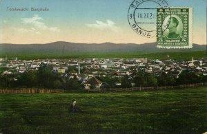bosnia and herzegovina, BANJALUKA Бањалука, Panorama (1921) Postcard