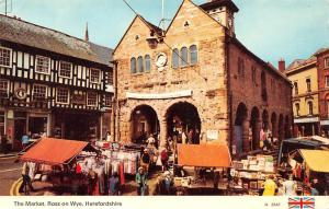 The Market, Ross on Wye, Herefordshire