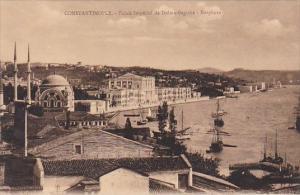Palais Imperial de Dolma-Bagtche Bosphore Constantinople Turkey