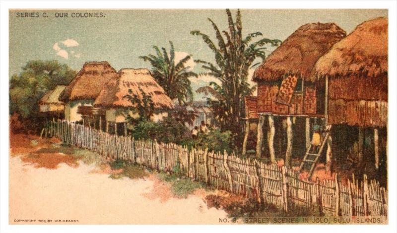 Sulo Islands   Jolo  typical street