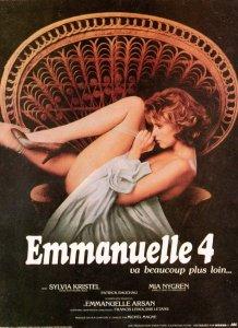 Emmanuelle 4 French Film Movie Poster Postcard