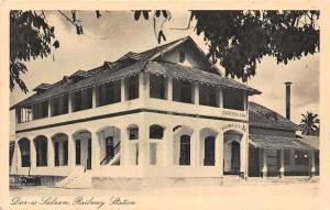 German East Africa Tanzania Dar Es Salaam, Dar-es-Salaam Railway Station Bahnhof