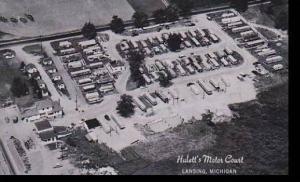 Michigan Lansing The Huletts Motor Court Dexter Press Archives