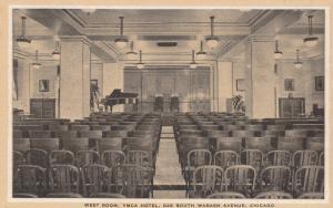 CHICAGO, Illinois; 10-20s; West Room, YMCA Hotel