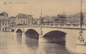 Belgium Brussels Le Pont des Arches
