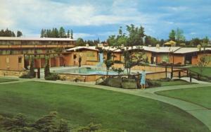 Tyee Motor Inn ~ Olympia WA Washington ~ Vintage Postcard