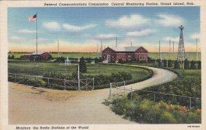 Nebraska Grand Island Federal Communications Commsission Station Curteich sk6334