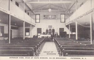 New Jersey Paterson Interior View Star Of Hope Mission