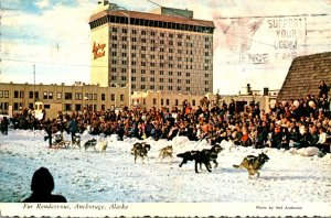 Alaska Anchorage Fur Rendezvous Time 1973