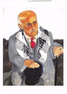 Postcard Art PORTRAIT DE MAX JACOB (1929) by Christopher Wood MU2248 #910