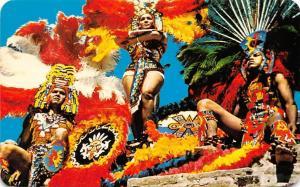 Mexico Trajes Regionales Aztecas Aztec Native Costumes