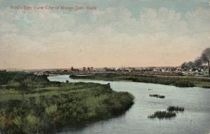MOOSE JAW , Saskatchewan , Canada , 1910; Bird's Eye View of City