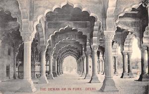 Delhi India Dewan am in Fort Delhi Dewan am in Fort