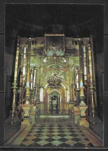 Jerusalem, The Holy Sepulchre, interior, unused