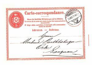 Carte Correspondance -