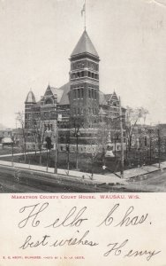 WAUSAU , Wisconsin , 1906 ; Court House
