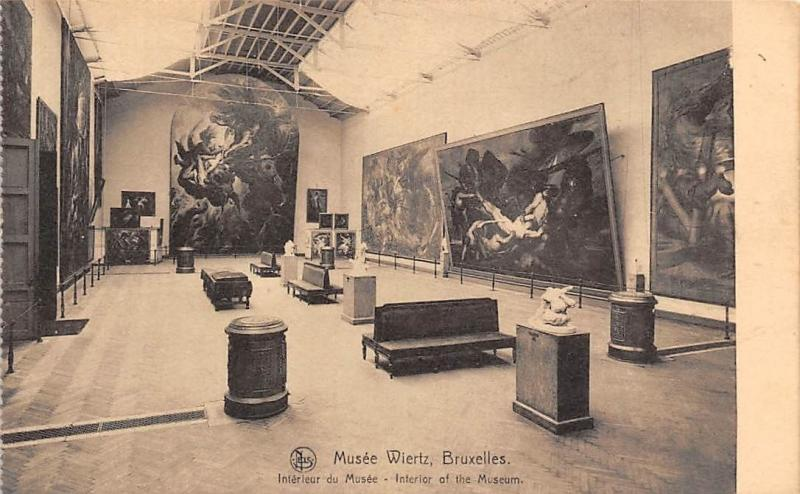 Musee Wiertz Bruxelles Belgie Interieur Interior of Museum / HipPostcard