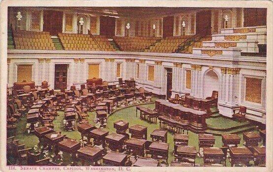 Senate Chamber Capitol Washington D C