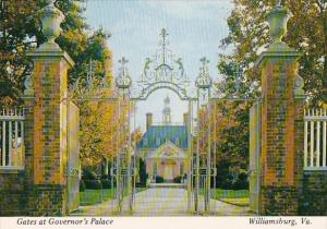 Virginia Williamsburg Gates At Governors Palace
