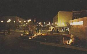 Arkansas Hope Night Sight Of Centennial Plaza