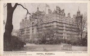 England London Hotel Russell