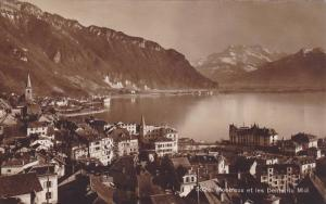 RP, Panorama, Montreux Et Les Dents Du Midi, Vaud, Switzerland, 1920-1940s