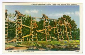 Climbing Ladder Obstacle Course, Fort Leonard Wood,  Missouri