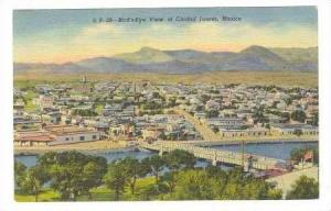 Bird´s Eye View Of Ciudad Juarez, Mexico, 1930-1940s