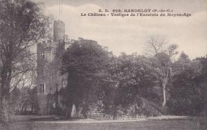 Le Chateau - Vestiges De l'Enceinte Du Moyen-Age, Hardelot (Pas de Calais), F...