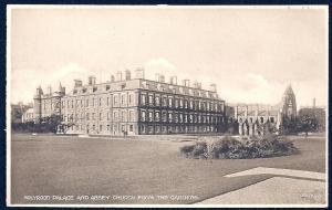 Holyrood Palace Gardens Edinburgh unused c1920's