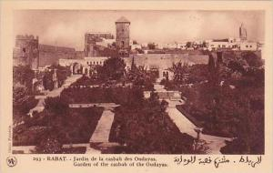 Morocco Rabat Garden of the casbah of the Oudayas 1920s-30s