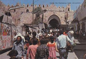 Inside the Damascus Gate, Jerusalem, Israel, 50-70´s