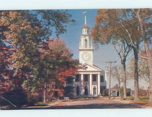 Pre-1980 CHURCH SCENE Kennebunkport Maine ME AD1597