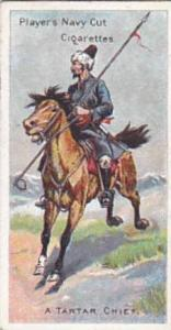 Player Vintage Cigarette Card Riders Of The World 1905 No 24 A Tartar Chief