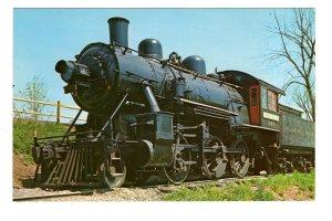 Locomotive, Black River & Western Railroad, Ringoes, Hunterdon, New Jersey