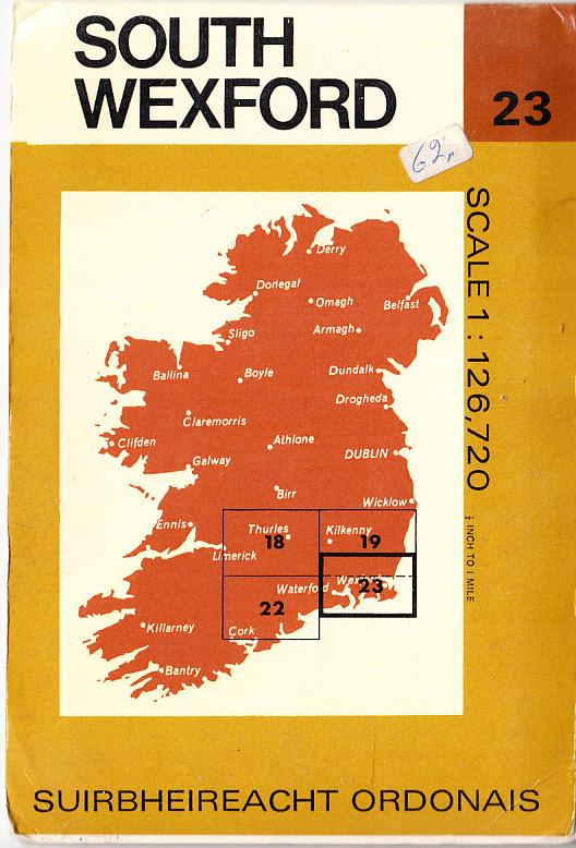 South Wexford Ireland Ordinance Survey