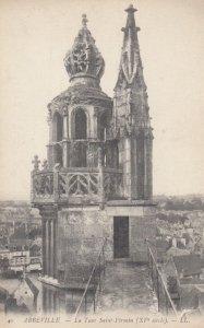 ABBEVILLE, France, 1910-1920s, La Tour Saint-Firmin