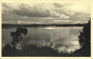 dutch new guinea, Panorama (1950s) RPPC (III)