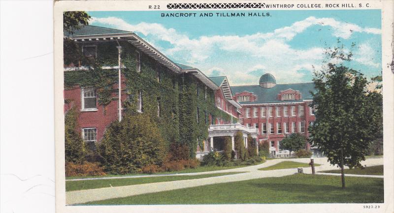 Bancroff & Tellinger Halls , Winthrop College , ROCK HILL , PU-1941 #2