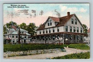 Branford CT-Connecticut, Montasco Inn Annex, Indian Neck, Vintage c1916 Postcard