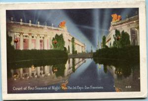 Folder - Panama-Pacific Exposition, 1915, San Francisco. 15 views + cover + 2...