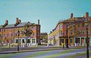 Massachusetts Newburyport Market Square Plaza