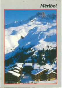 France, Meribel, used Postcard
