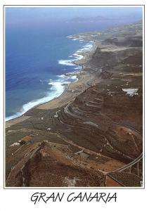 Spain Gran Canaria Costa Norte Aerial view