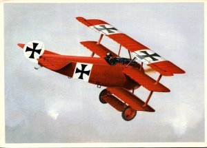 Fokker DR-1 Flown By The Red Baron By John Batchelor