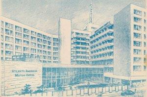 ATLANTA , Georgia , 1968 ; American Motor Hotel